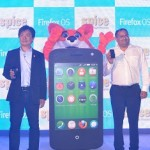 From left to Right Dr. James Ho (Senior Director, Mobile Devices, Mozilla Corporation) and Mr. Prashant Bindal (CEO, Spice Mobility Limited)